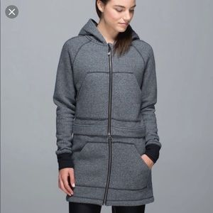 lululemon athletica Jackets & Coats - Lululemon long and short of it jacket